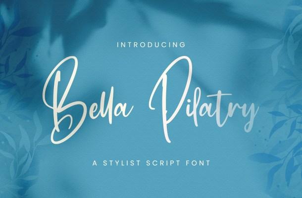 Bella Pilatry Font