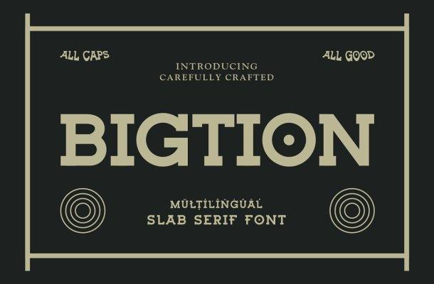 Bigtion-Font