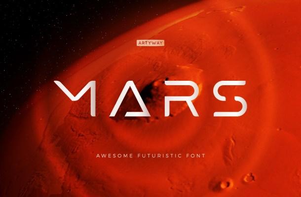 Mars-Font