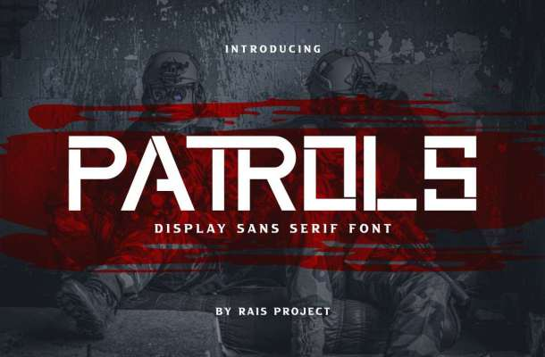 Patrols-Font