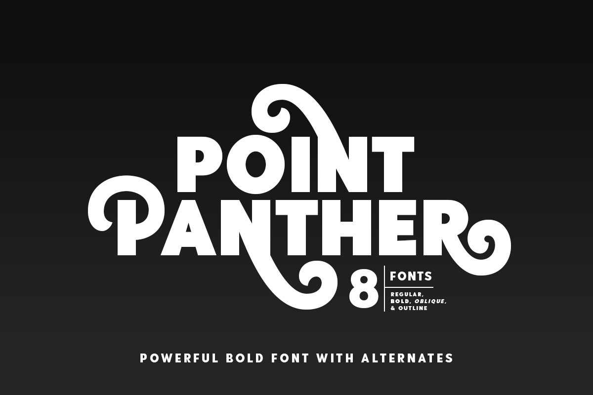 Point-Panther-Font