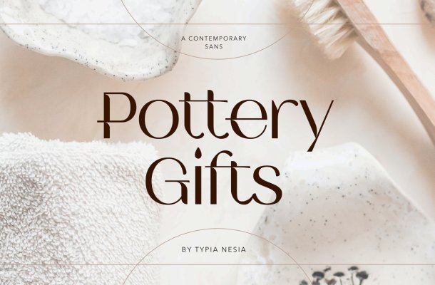Pottery-Gifts-Font