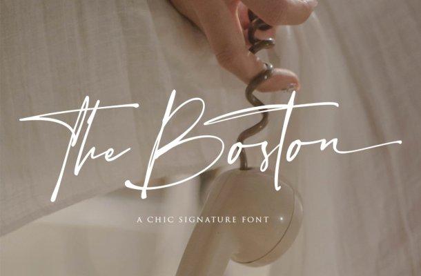 The Boston Font