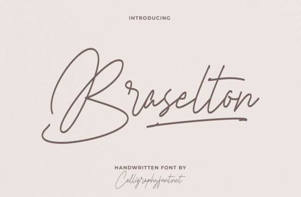 Braselton-Font