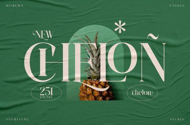 Chelon-Font