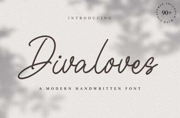 Divaloves-Font