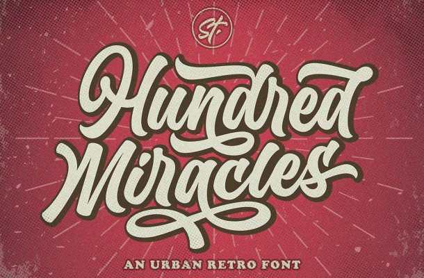 Hundred-Miracles-Font