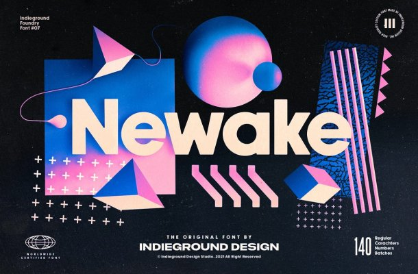 Newake-Font