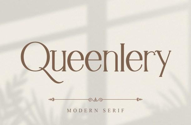 Queenlery-Font