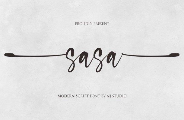 Sasa Font