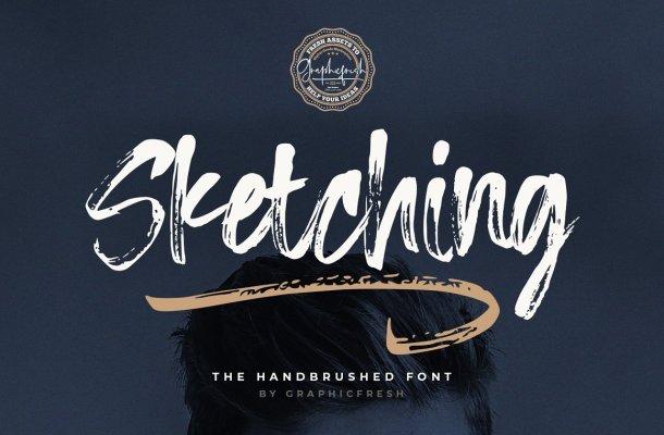 Sketching-Font