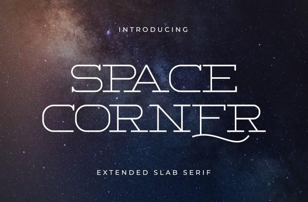 Space-Corner-Font