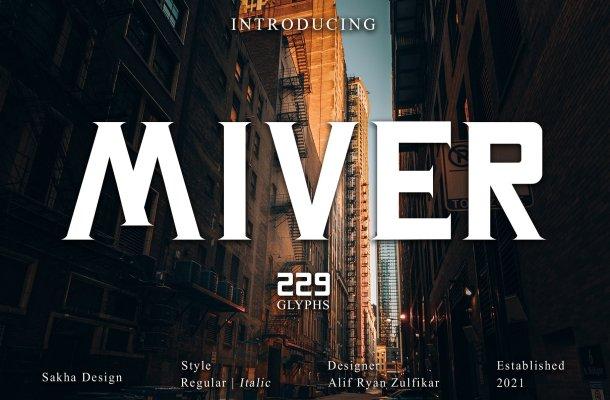 Miver Font