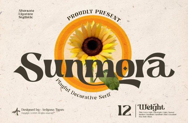 Sunmora-Font