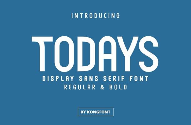 Todays Font