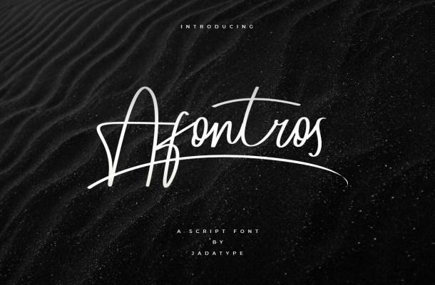 Afontros Font