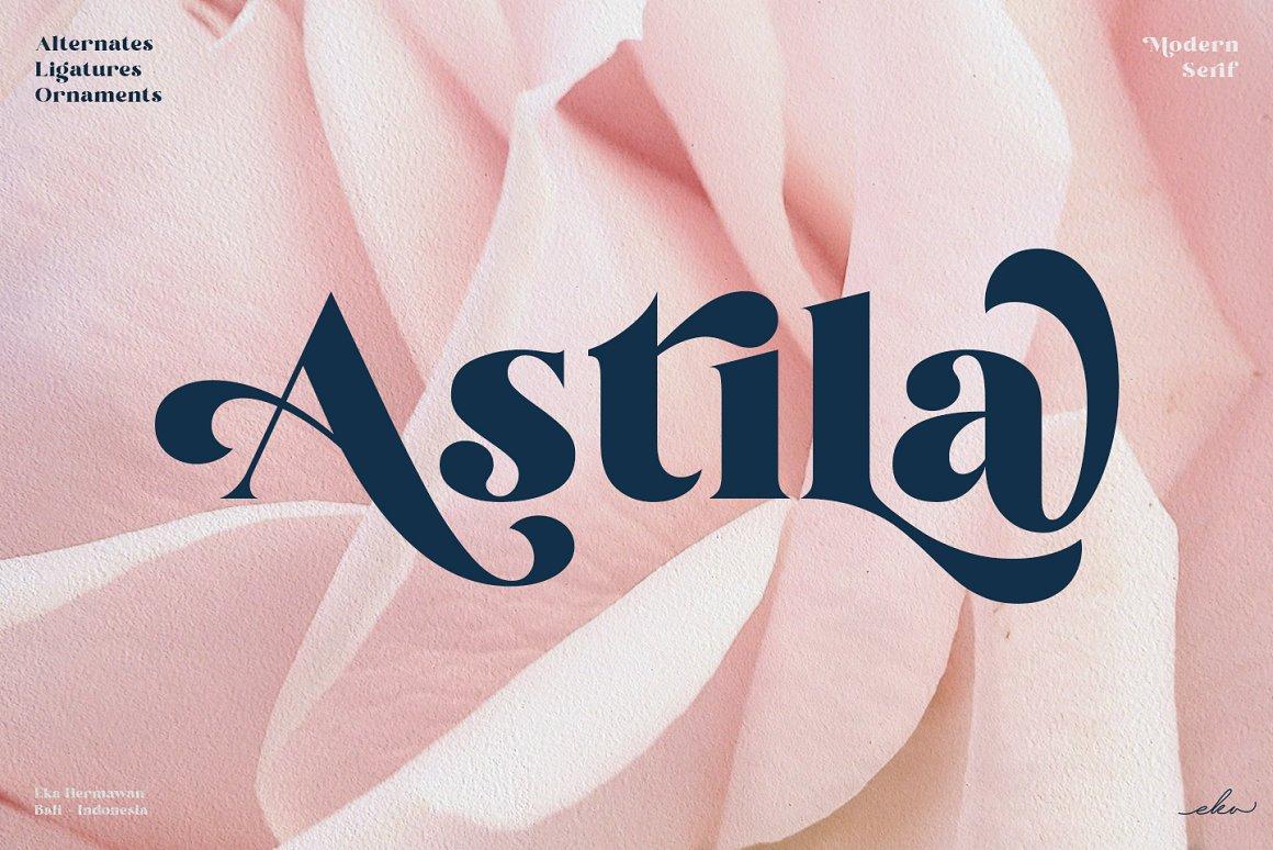 Astila-Font