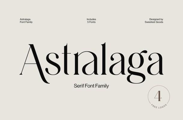 Astralaga Font Family