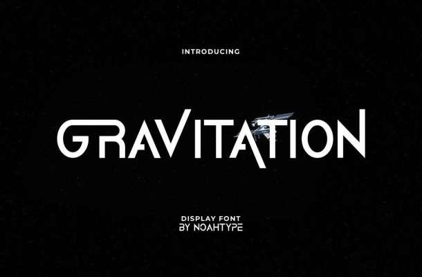 Gravitation Font