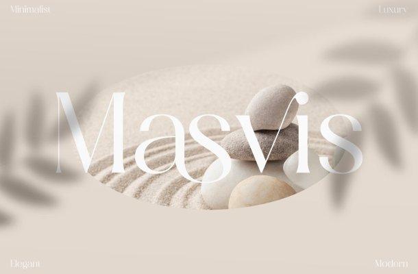 Masvis Serif Font