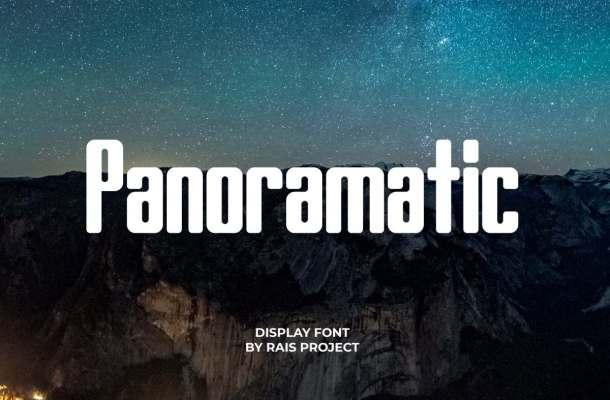 Panoramatic Font