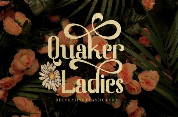 Quaker Ladies Serif Font