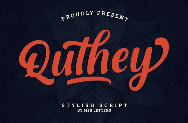 Quthey Font