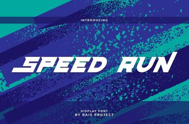 Speed Run Font