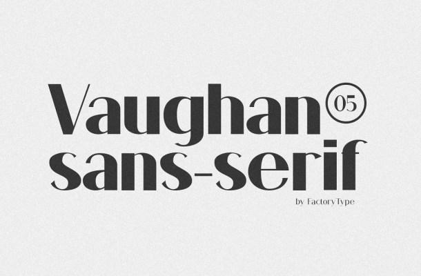 Vaughan Font