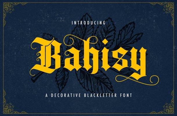Bahisy Font