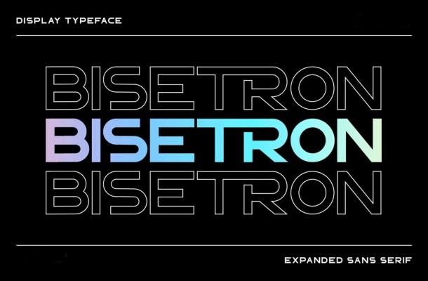 Bisetron Font