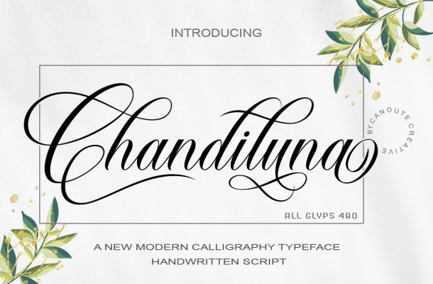 Chandiluna Font