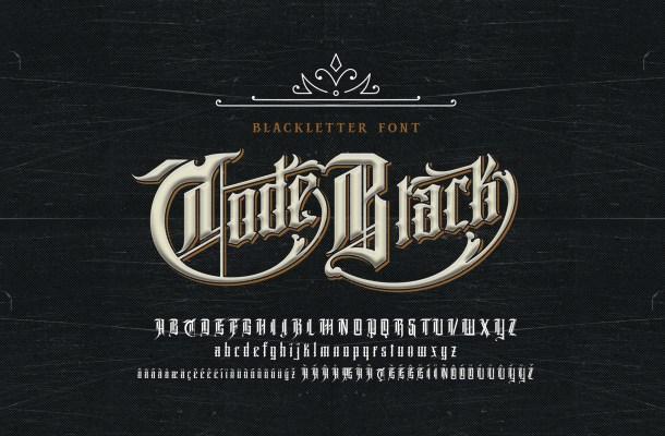 Code Black Font