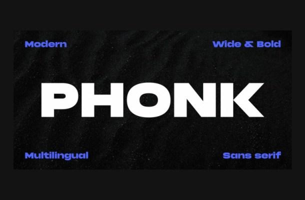 Phonk Font