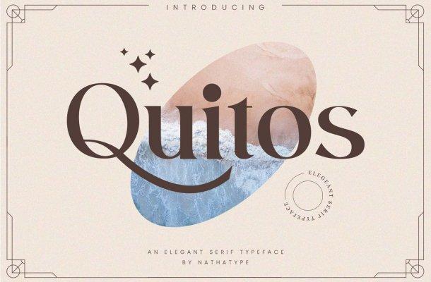Quitos Serif Font
