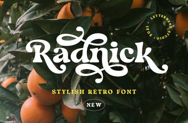 Radnick Font