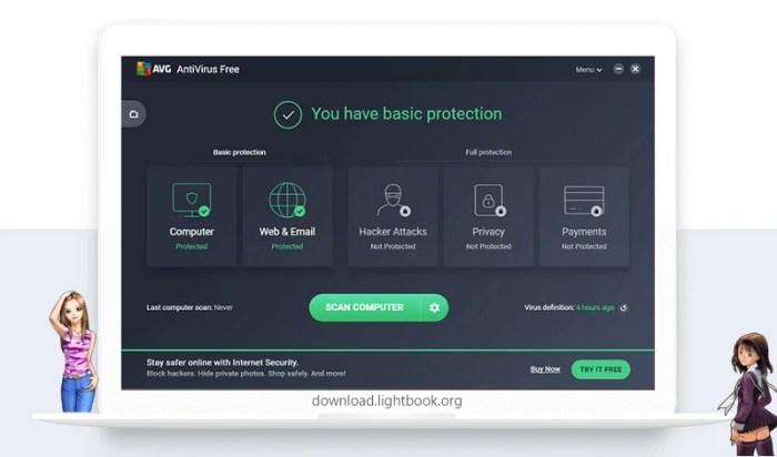 تحميل برنامج اي في جي 2019 AVG AntiVirus Free الاصدار الاخير