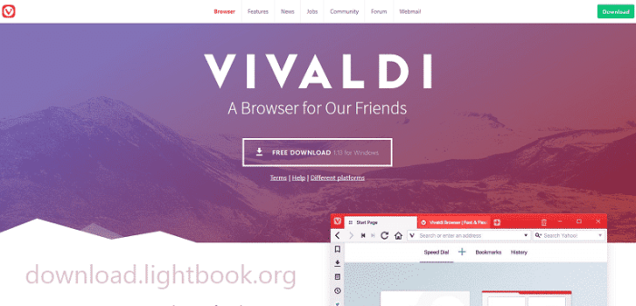 Download Vivaldi Browser 2019 for PC and Smartphone