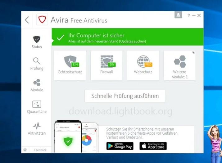 تحميل برنامج افيرا انتي فايروس Avira Free Antivirus 2021