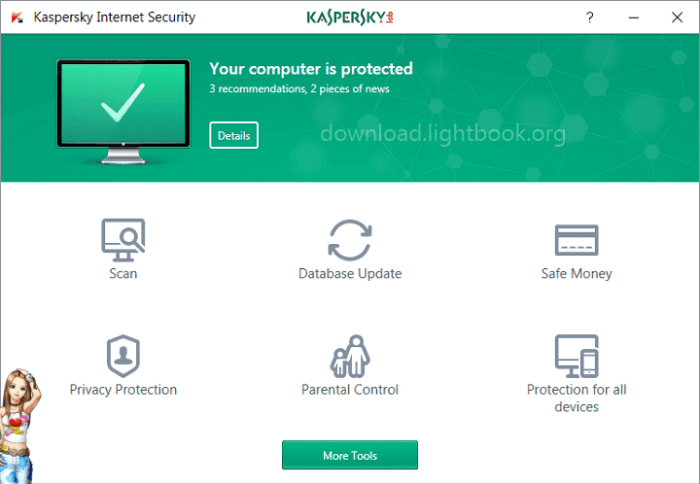 Download Kaspersky Internet Security 2019 Full Protection