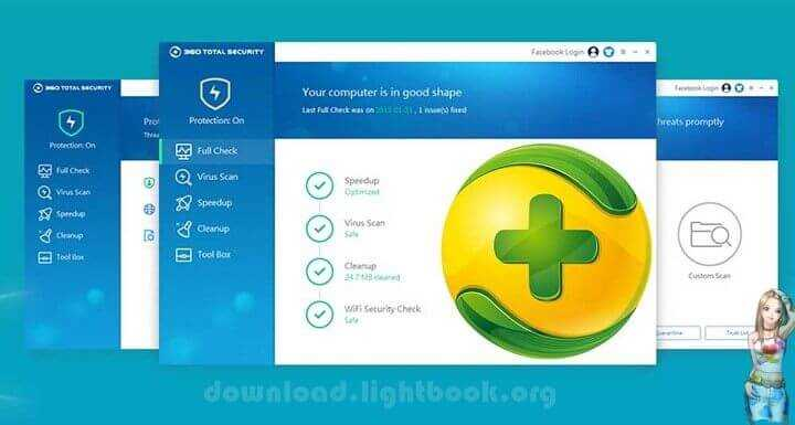 Download 360 Total Security For Free Lighter and Faster Protection