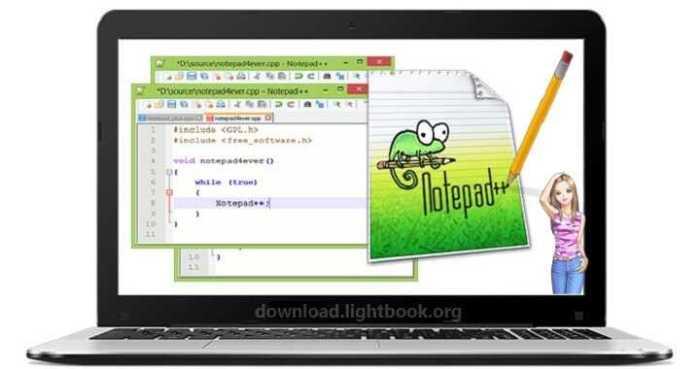 Télécharger Notepad++ 2018 Pour Les Systèmes d'exploitation Windows