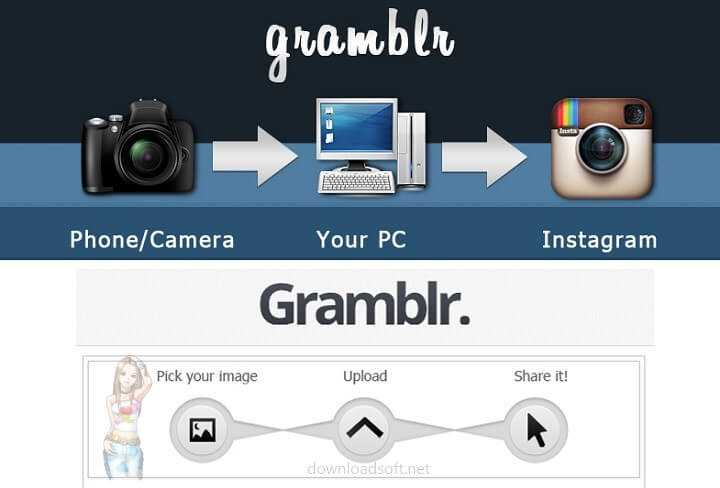 Download Gramblr - Upload Photos & Videos from PC to Instagram