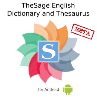 Download TheSage English Dictionary & Thesaurus 2019 Free