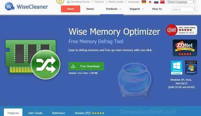 Photo of Download Wise Memory Optimizer 2019 Defrag/Free Up Memory
