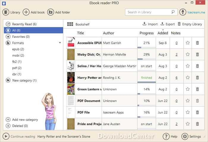 Download Icecream Ebook Reader for PC & Tablet Free