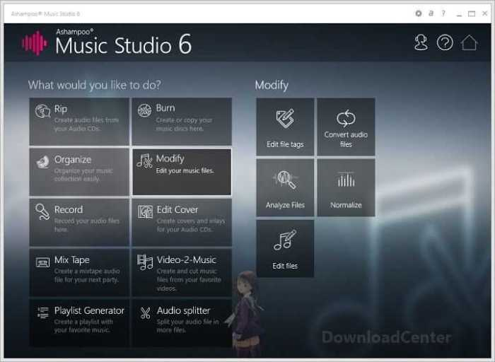 Download Ashampoo Music Studio 6 Edit & Burn Music Files