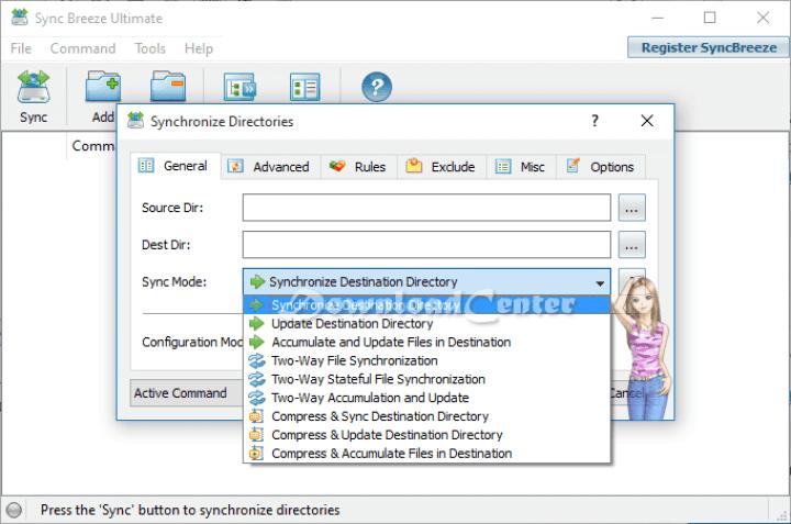 Descargar Sync Breeze - Sincronizar Archivos a Su PC Gratis