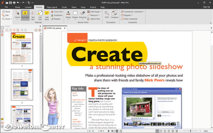 Download Nitro Pro Create & Display PDF Files on Windows PC