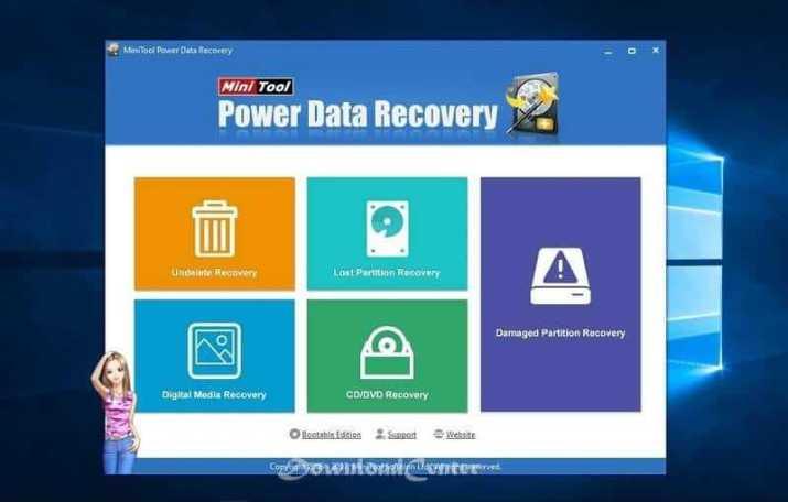 تحميل MiniTool Power Data Recovery استعادة البيانات المحذوفة